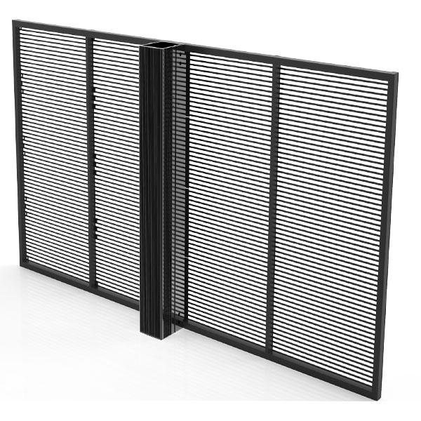 écrans transparents LED