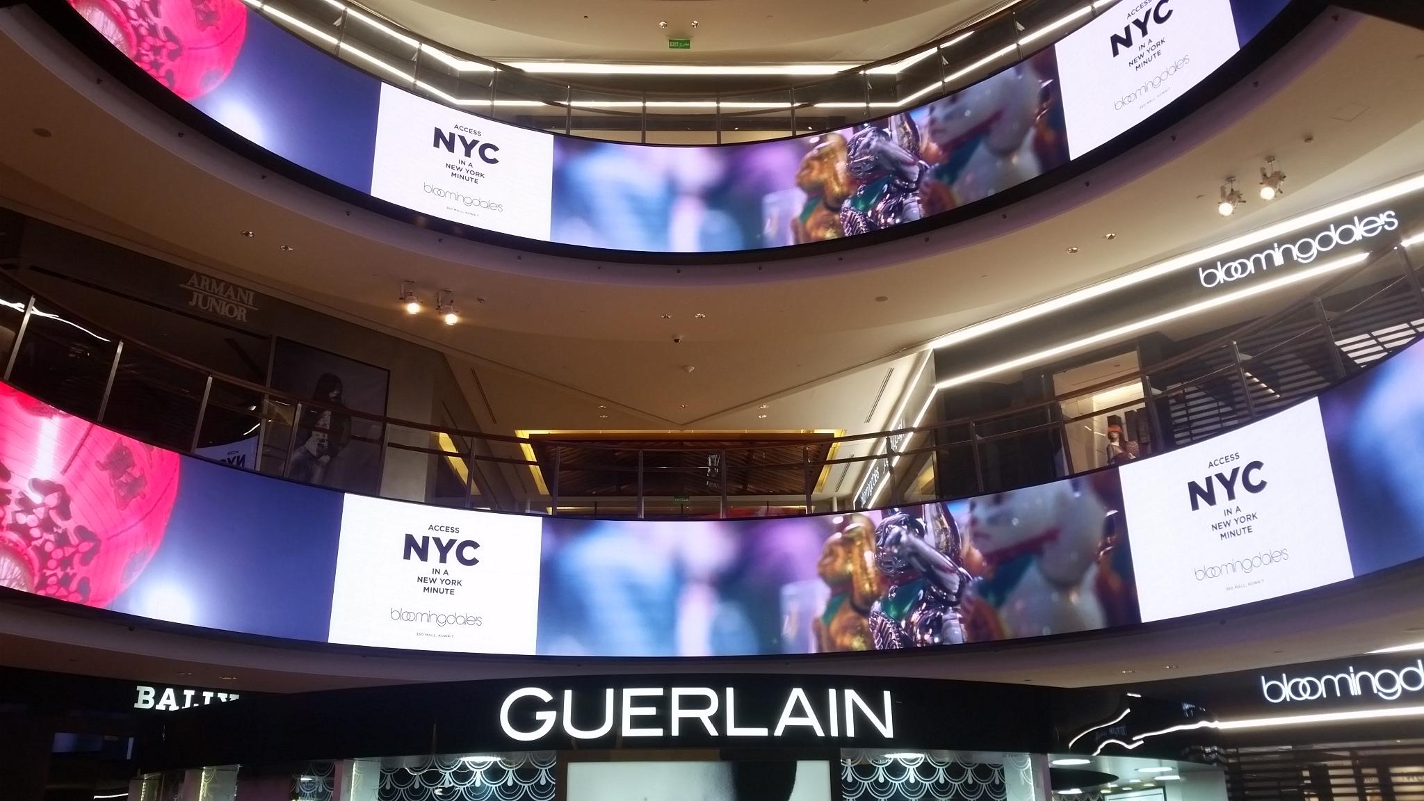 ledcast - écran géant location - écran géant indoor